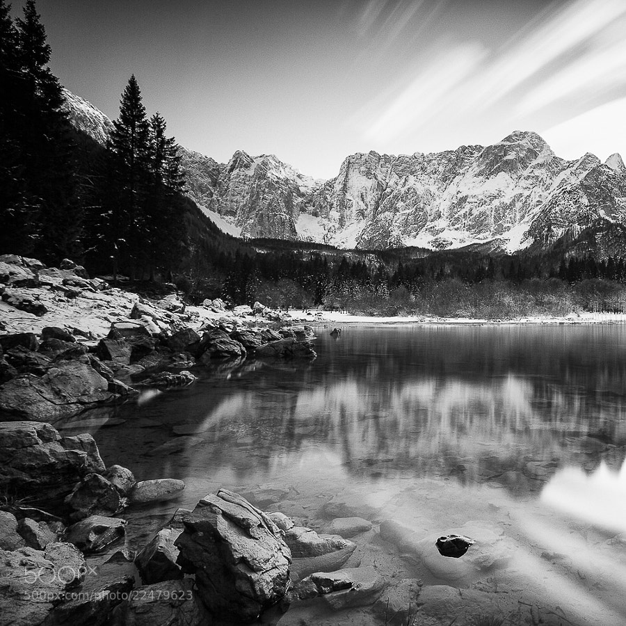 Photograph fusine, lake #3 by Fabrizio Gallinaro on 500px