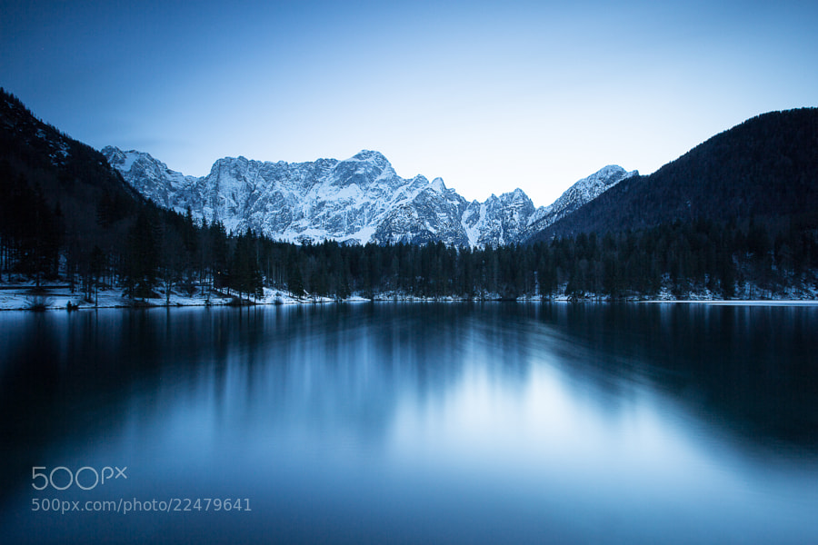 Photograph fusine, lake #1 by Fabrizio Gallinaro on 500px