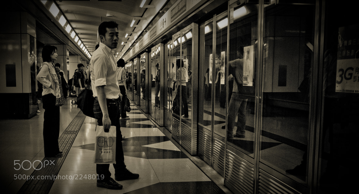 Photograph Hong Kong Subway by Richard Ng on 500px