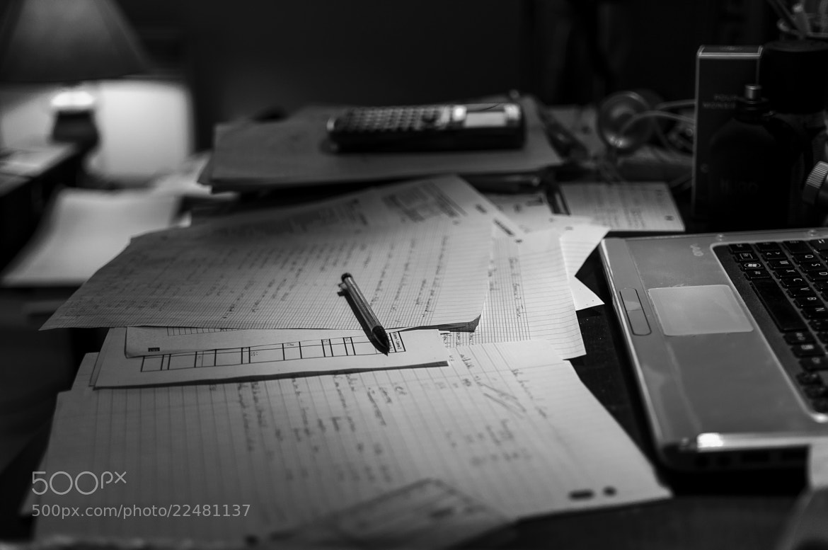 Photograph Study time by Vincent Charvet on 500px