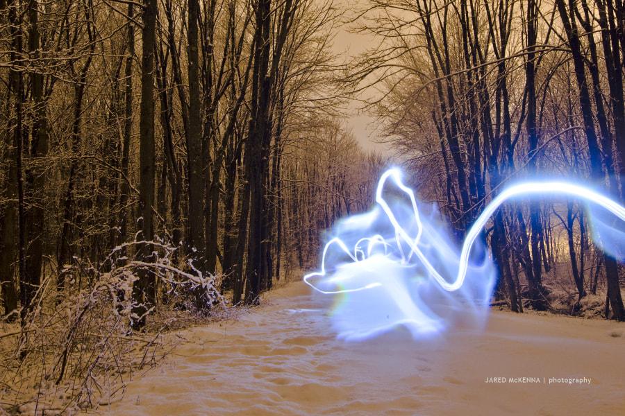 Snow Trail by Jared McKenna on 500px