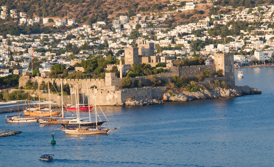 Bodrum Castle by Serhio Magpie on 500px.com
