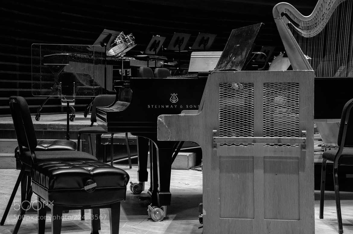 Photograph Steinway in Verizon Hall by Shawn Colborn on 500px