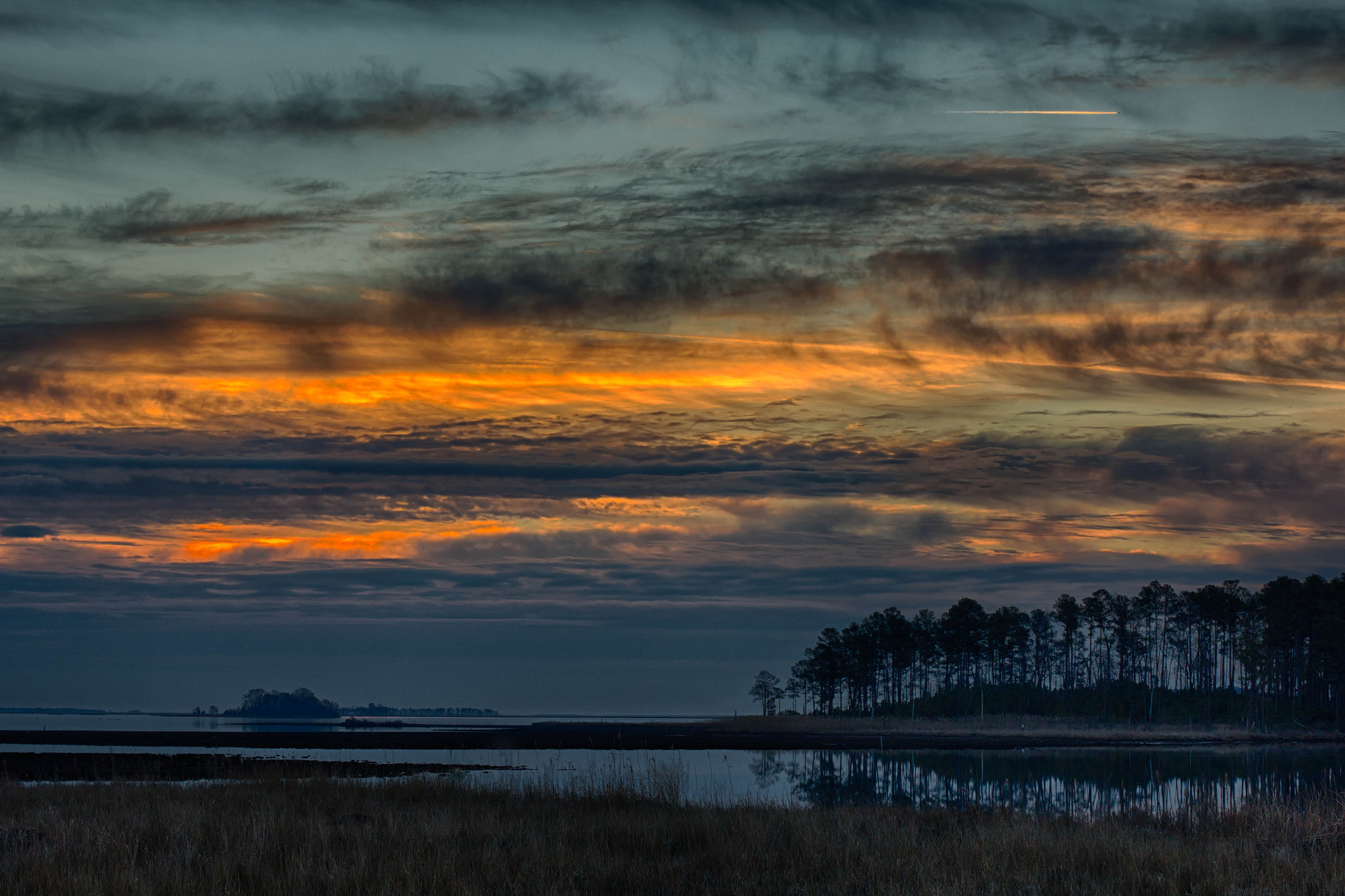 Photograph Sunrise at Blackwater I by Ursula Hubert Lawrence on 500px