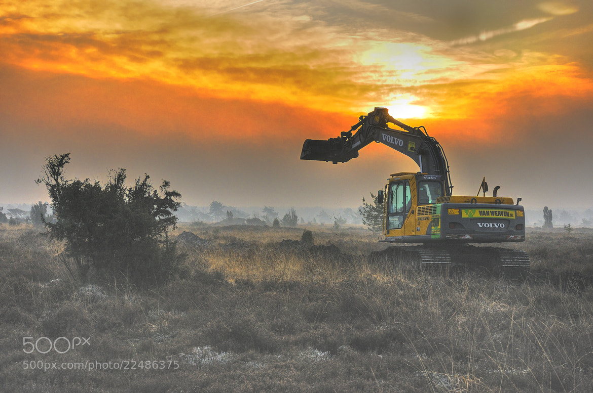 Photograph Big Digger by B Timmer on 500px
