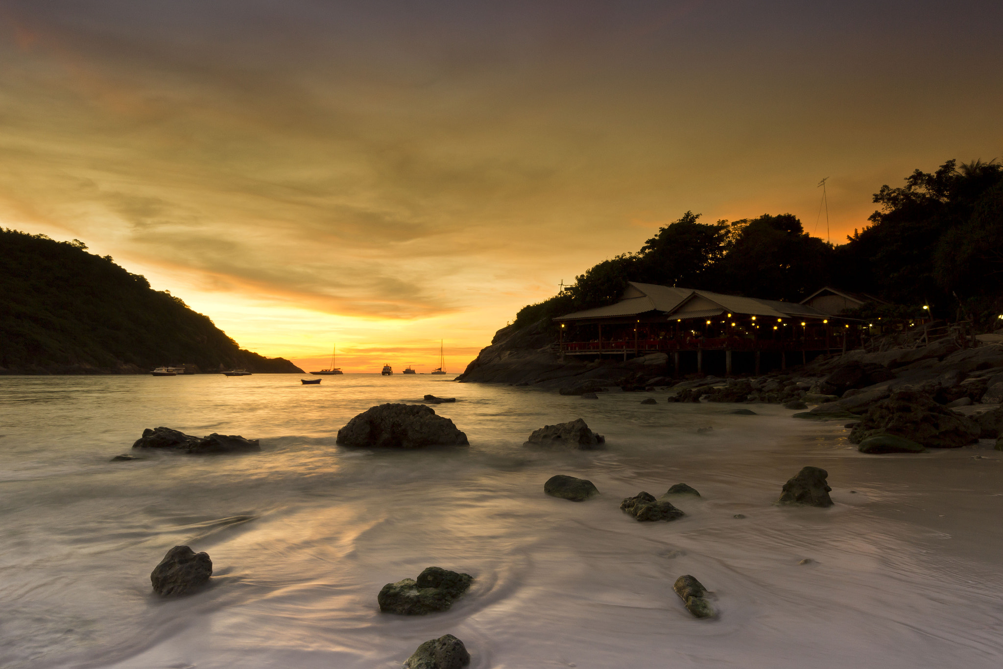 Photograph Ratcha Sunset by Russell Algar on 500px