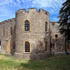 Taunton Castle ,Somerset ,England