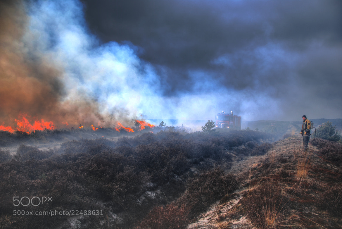 Photograph Burning Heathland 2 by B Timmer on 500px
