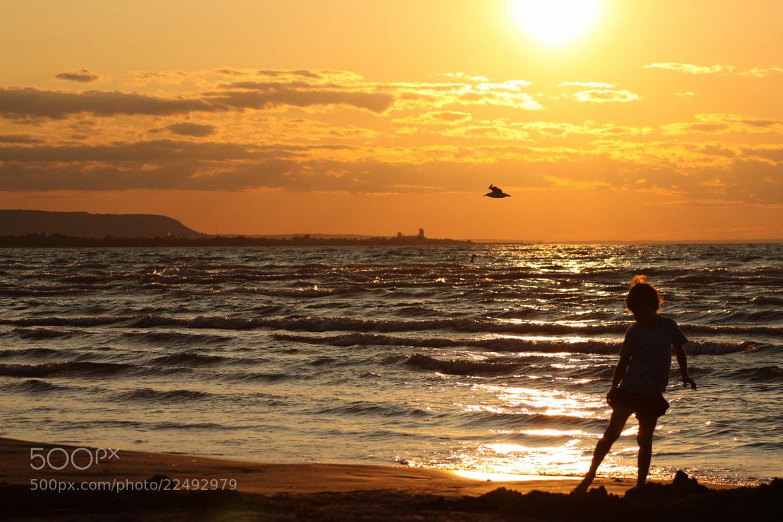 Photograph Kid on the Beach by Michael Lishansky on 500px