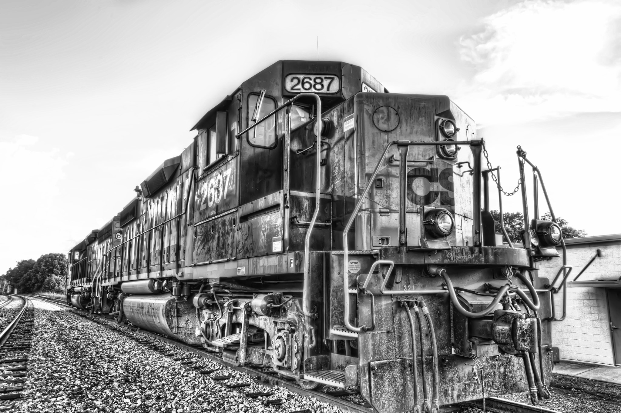 Photograph Downtown Train by Doug Pike on 500px