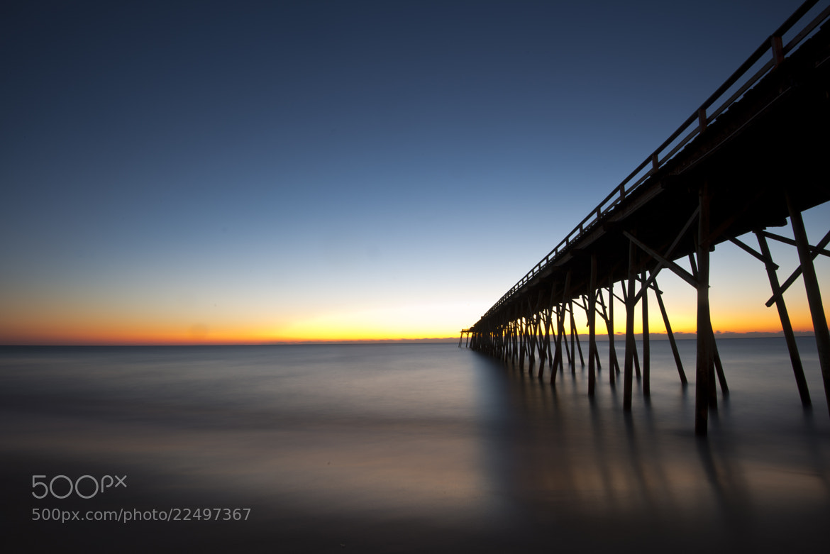 Photograph Sunrise at Kure Beach by John Brunjes on 500px