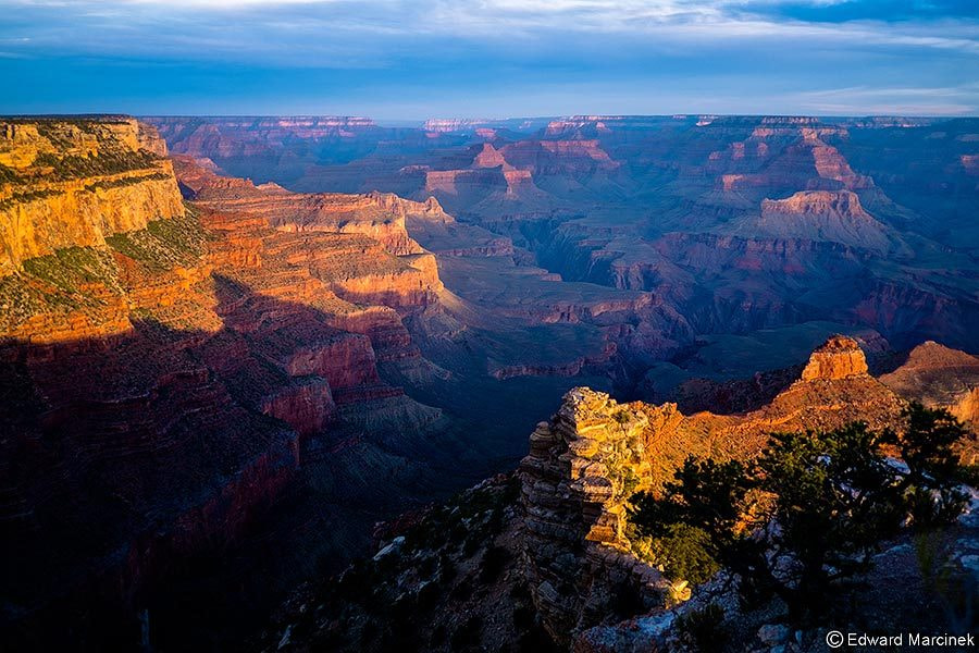 Photograph Sunrise at Grand Canyon by Edward Marcinek on 500px