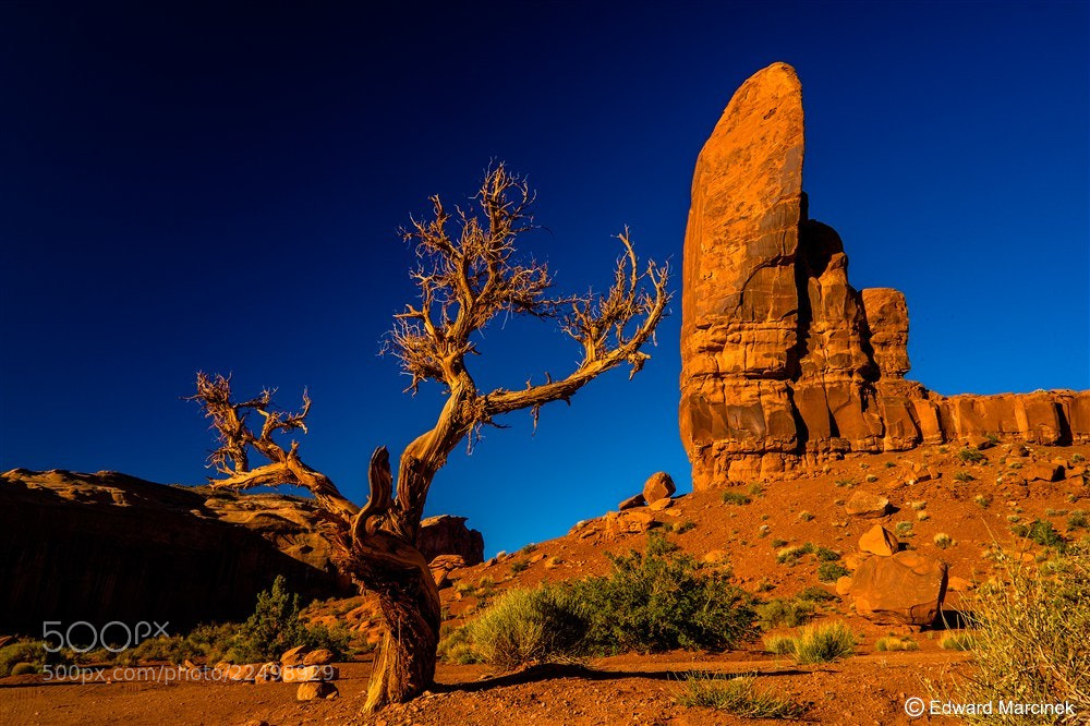 Photograph Monument Valley by Edward Marcinek on 500px