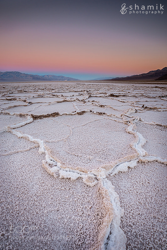 Photograph Badwater at Sunrise by shamikphotography on 500px