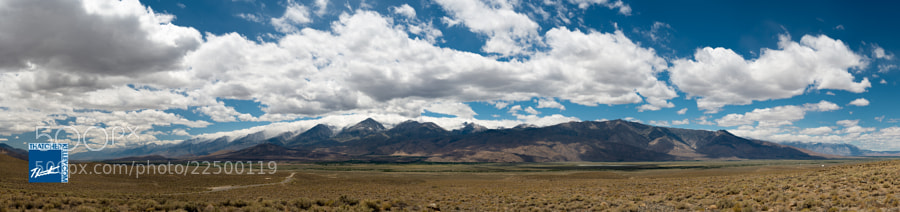 The Sierra Nevada Range stretches from the Mojave desert all the way to Mount Lassen.  This Eastern section of the range is known for its towering 14,000ft granite peaks.