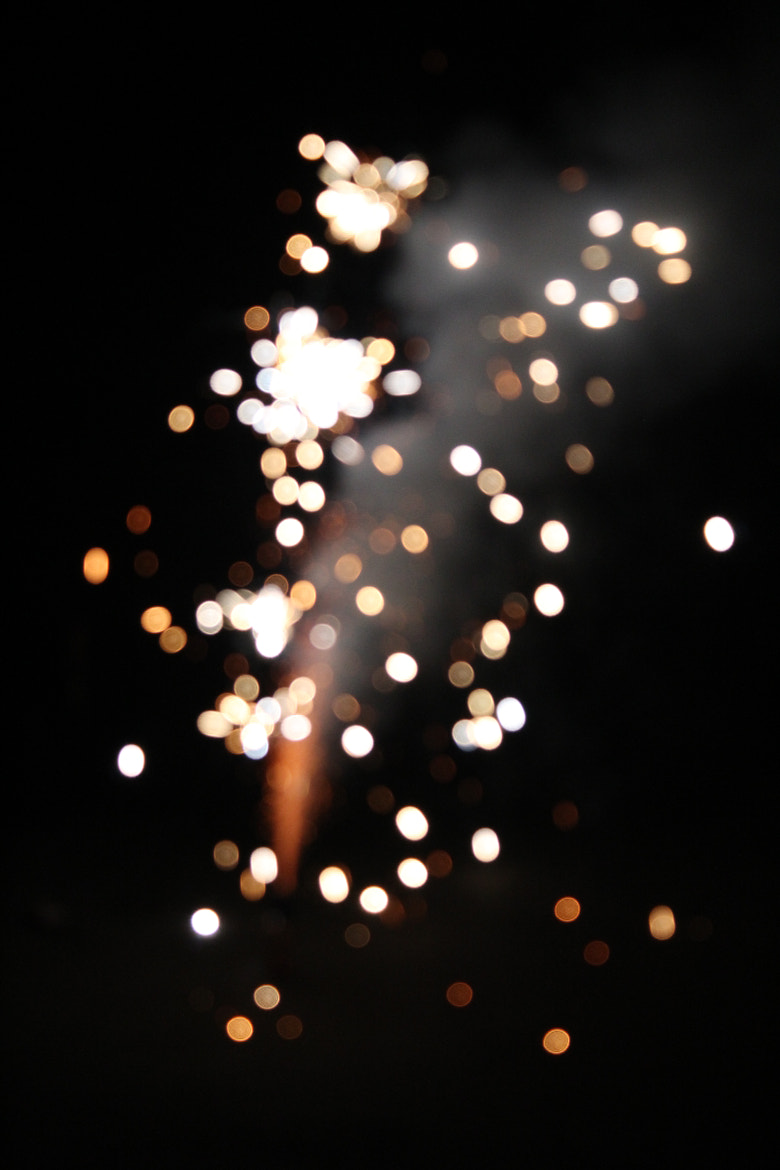 Photograph Fire Works (bokeh style) by Hannah Grace on 500px