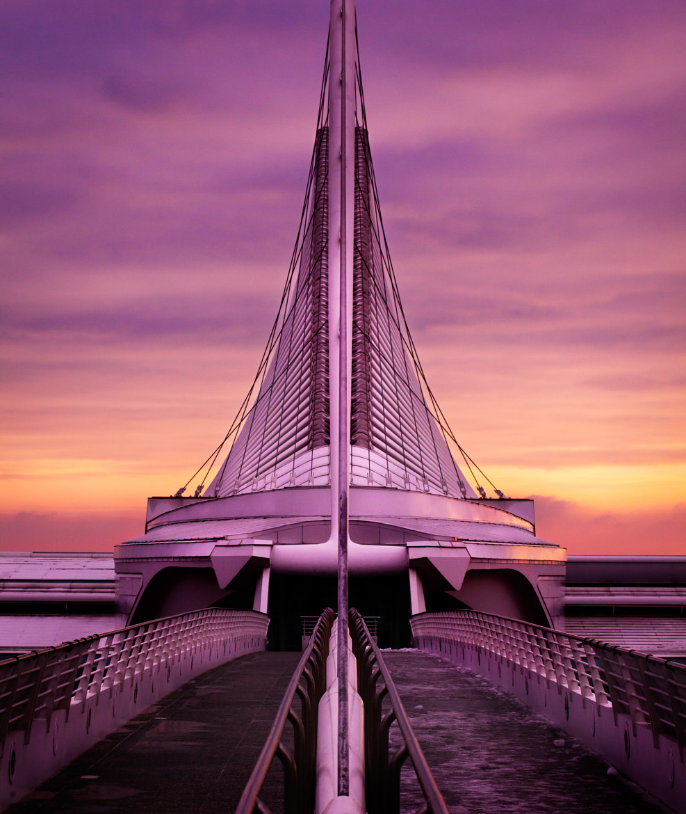 Photograph Milwaukee Museum of Art Purple Sunrise by Chris Smith on 500px