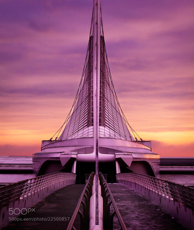 Photograph Milwaukee Museum of Art Purple Sunrise by Chris Smith on 500px