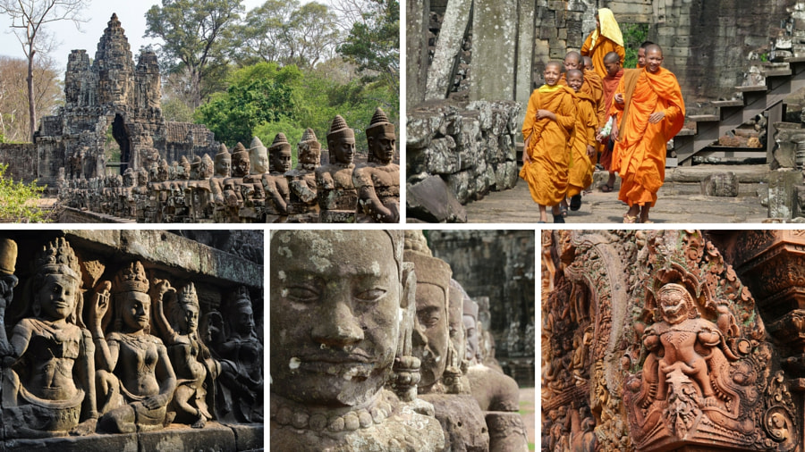 Temples in Angkor Archaeological Park by Sai Karthik Reddy Mekala on 500px.com