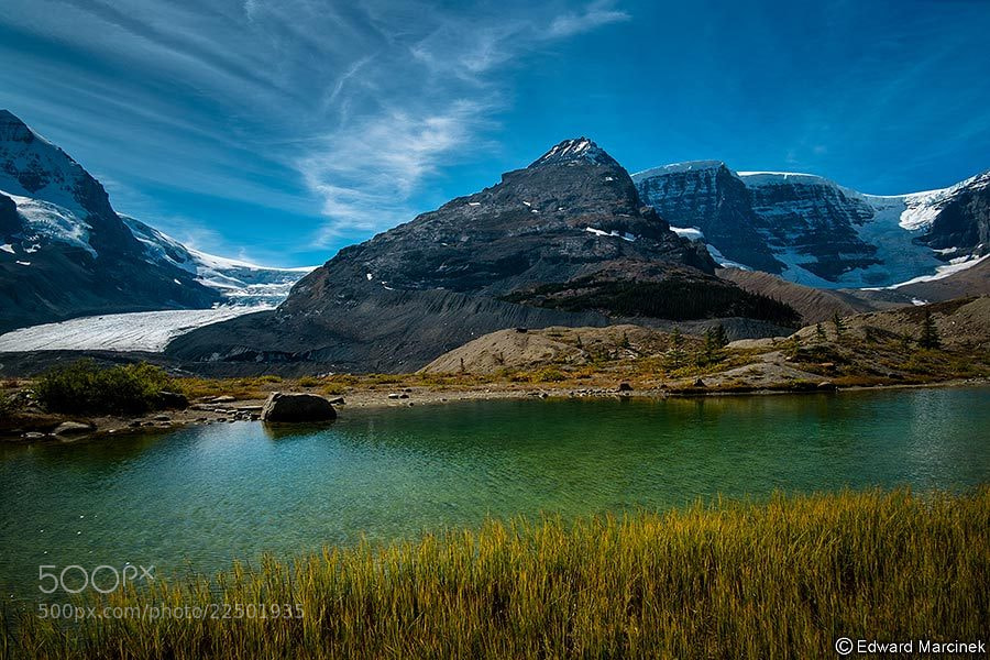 Photograph Atabasca Glacier by Edward Marcinek on 500px