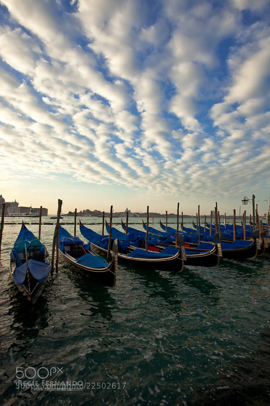 Photograph Amazing cloud pattern in Venice by Regie Fernando on 500px