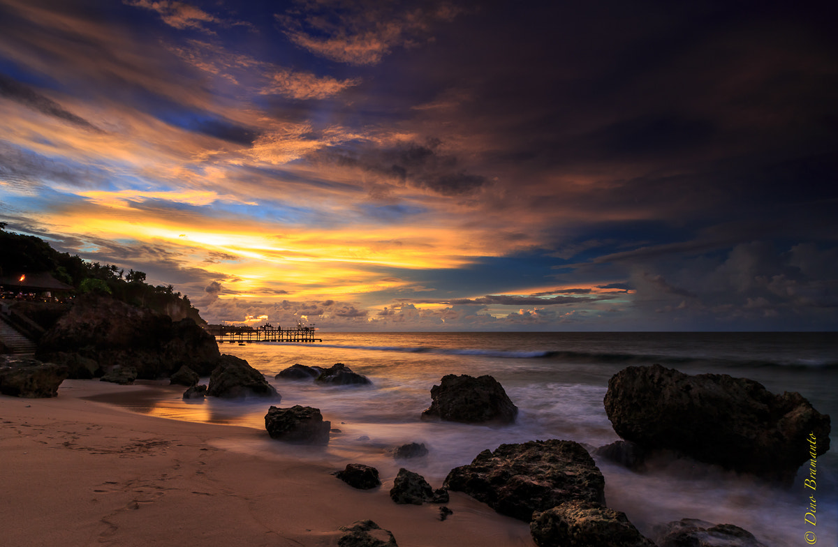 Photograph Good Nite Jimbaran Bay by Dino Bramanto on 500px
