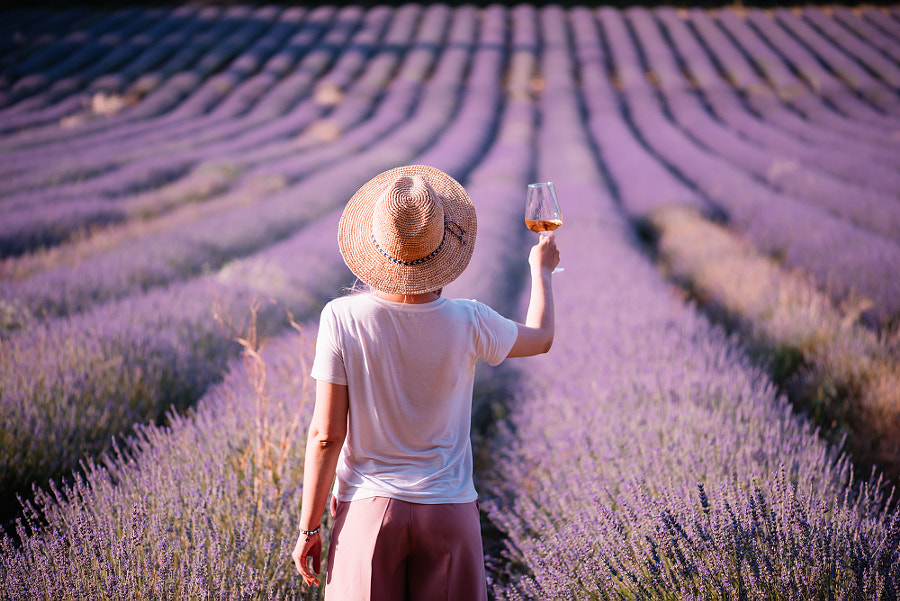 Lavender fields forever by Anastasia Belousova on 500px.com