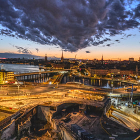 Photograph stockholmEvenings by Lukas Bachschwell