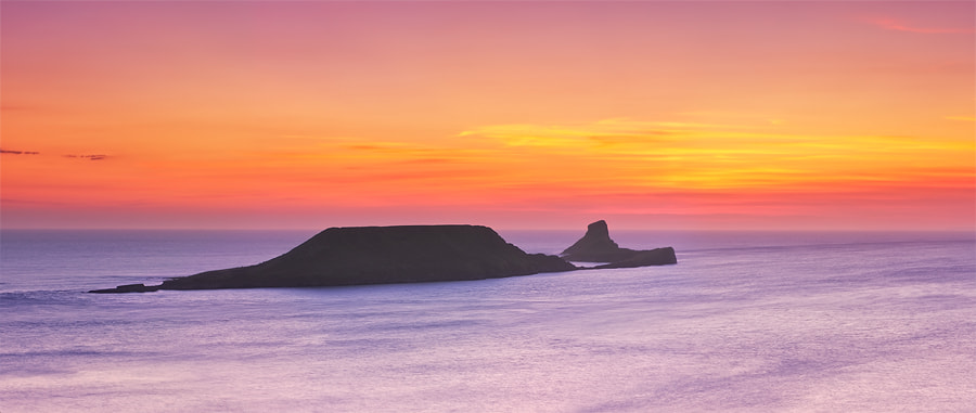 Photograph Worms Head by Michael  Breitung on 500px