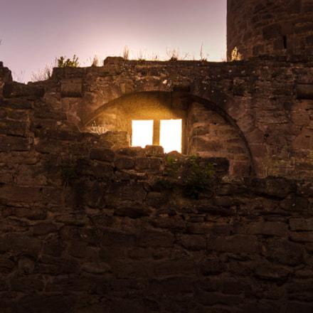 Sunset at Hanstein Castle