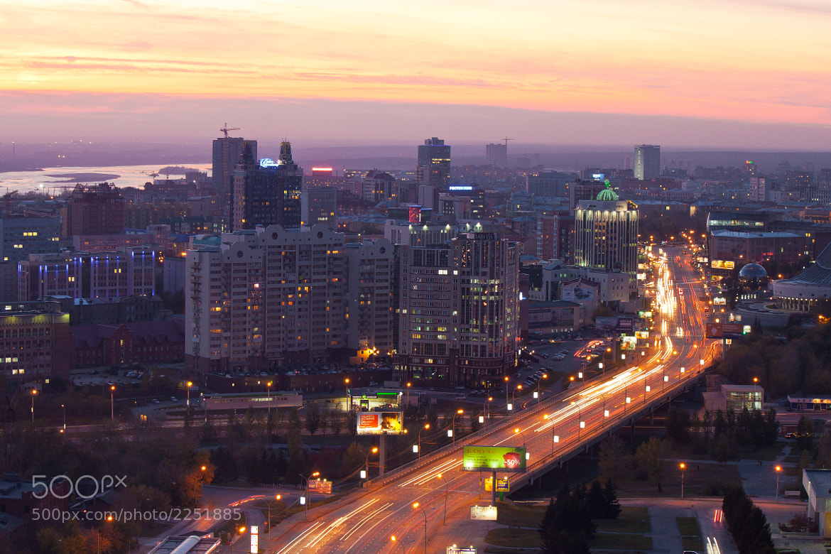 Photograph evening over the town by ILiX X on 500px