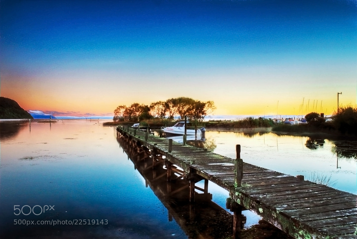 Photograph Morning at the jetty by Qallam Ahmad on 500px