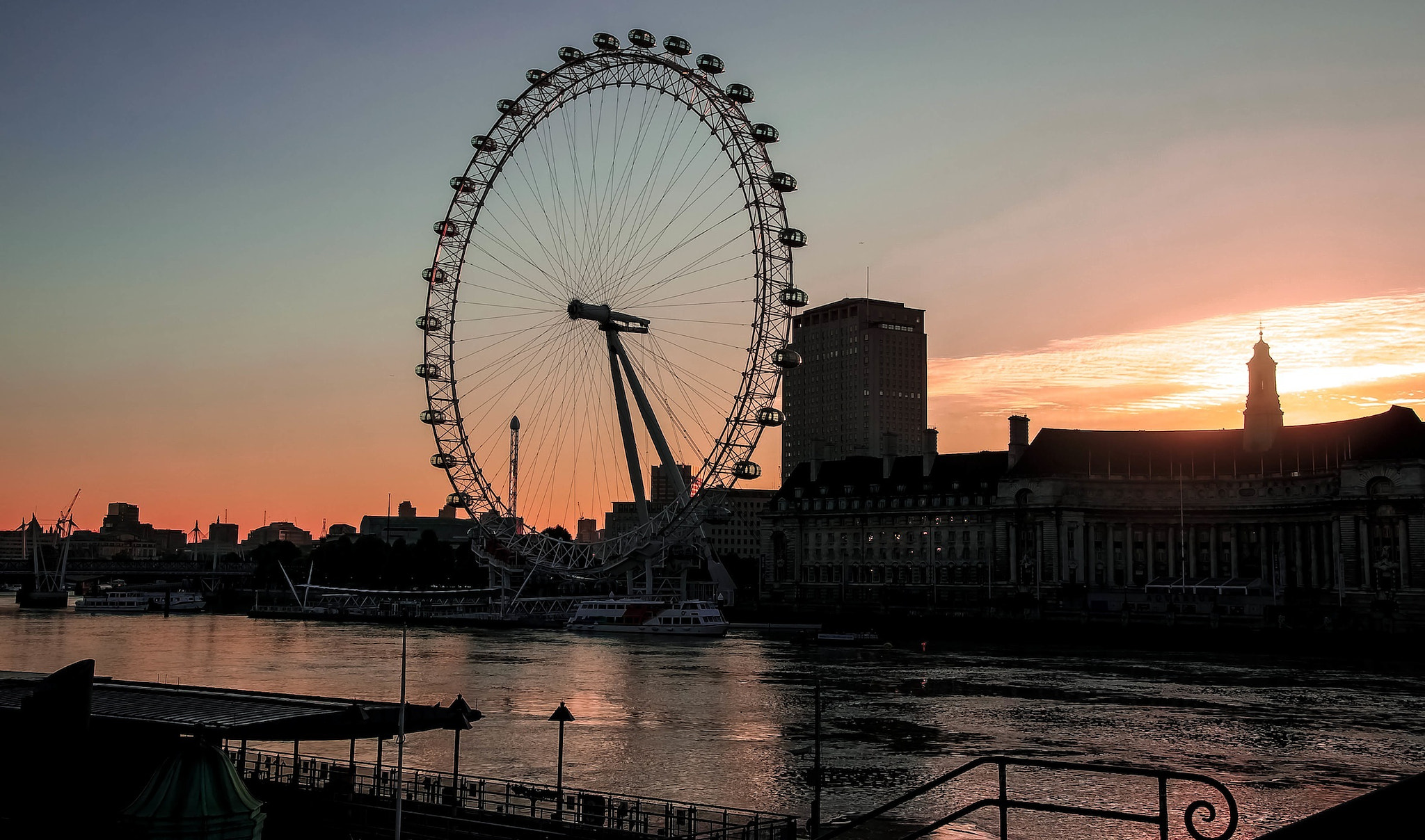 Photograph London Eye at Dawn by julian john on 500px