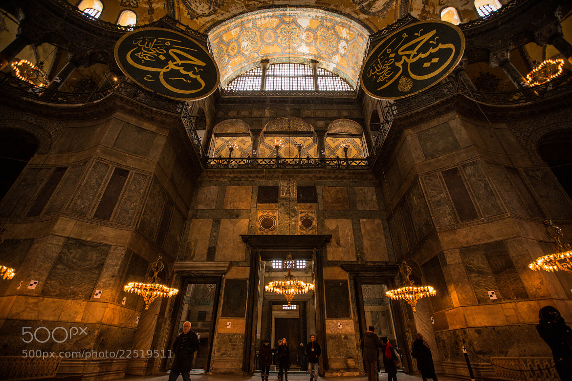 Photograph Hagia Sophia by Abdullah Rhwanjy on 500px