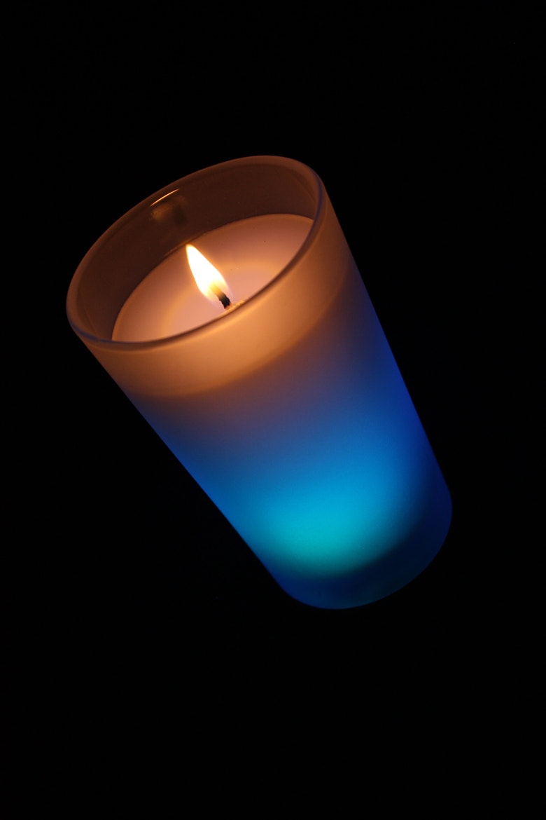 Photograph Colour changing candle by krittadee on 500px