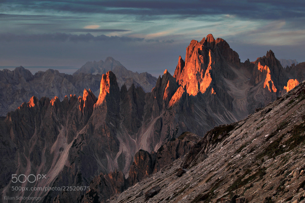 Photograph Dolomites Alpenglow by Kilian Schönberger on 500px