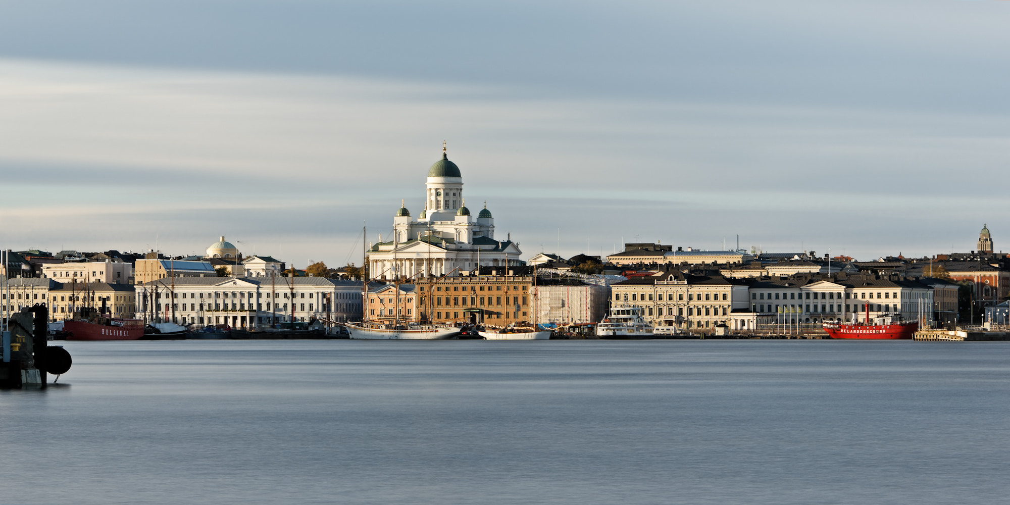 Photograph Helsinki Harbor before Sunset by Stefano Di Chiara on 500px