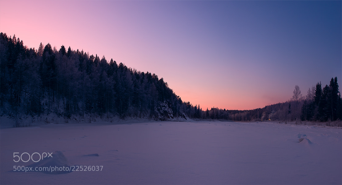 Photograph Northern Urals. Winter. Sosva river by Alexander Gil on 500px