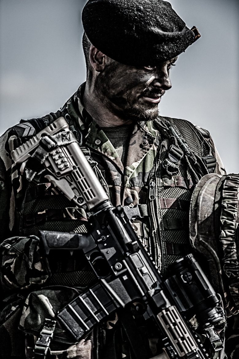 Photograph Soldier by Wim Slootweg on 500px