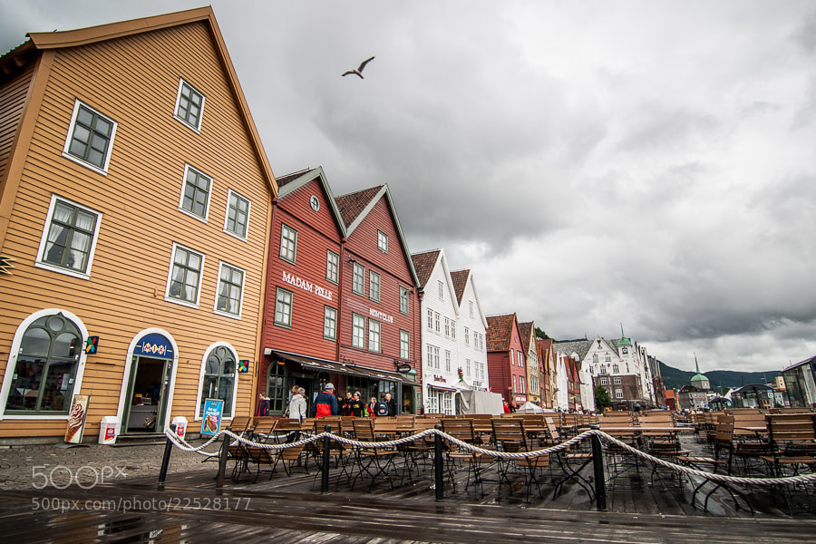 Photograph Bergen Bryggen by Jose Agudo on 500px