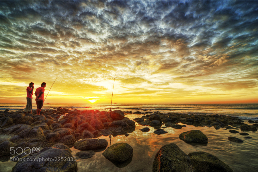 Photograph awesome sunrise by Khairul Nizan Ali on 500px