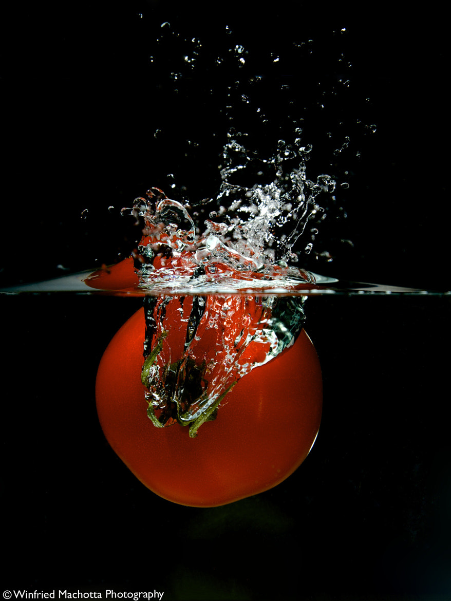 Photograph Tomato Dive by Winfried Machotta on 500px