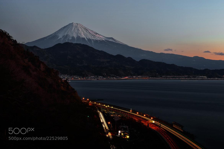 Photograph Fujisan and sea by MIYAMOTO Y on 500px
