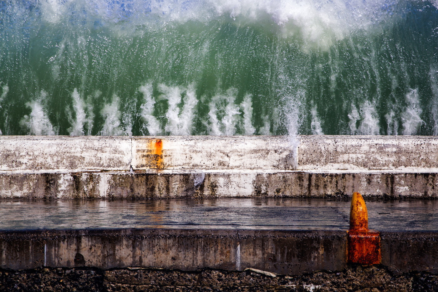 Photograph Breakwater by Michael Wrankmore on 500px