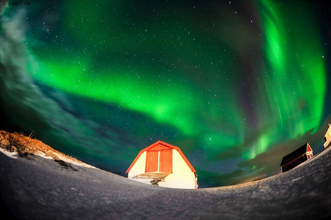 Photograph Aurora Borealis by Anneliese & Claus Possberg on 500px
