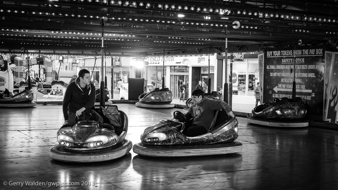 Photograph Dodgem Ride by Gerry Walden on 500px