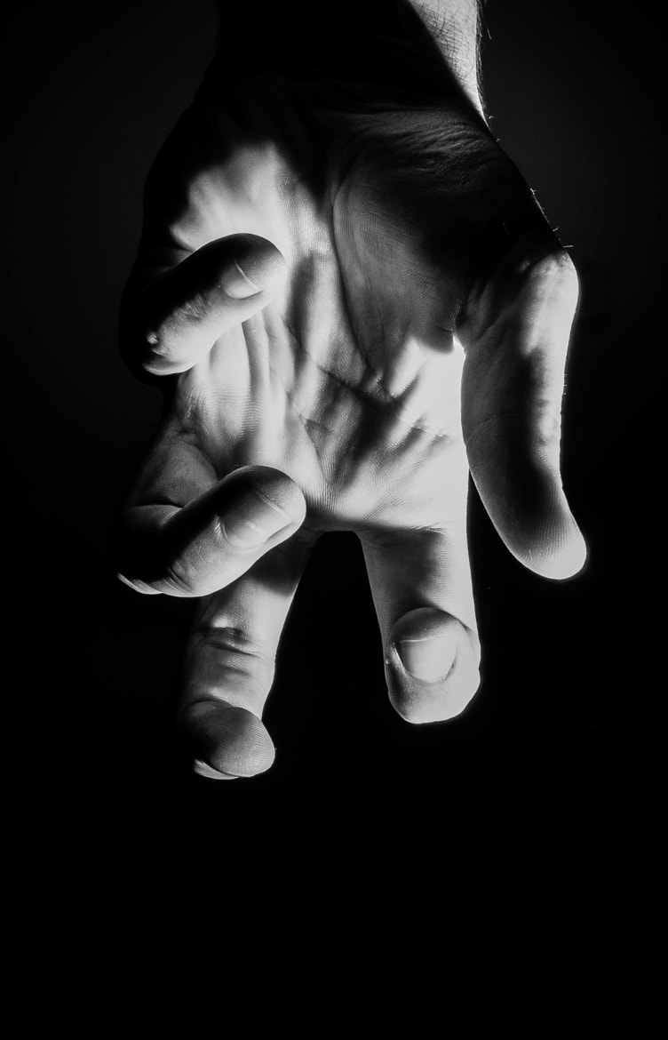 Photograph creepy hand by Tchernat Photography on 500px