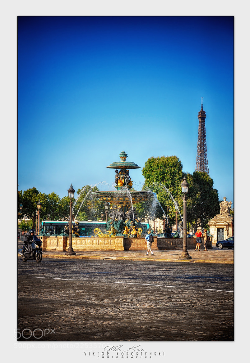 Photograph Place de la Concorde. Paris. by Viktor Korostynski on 500px