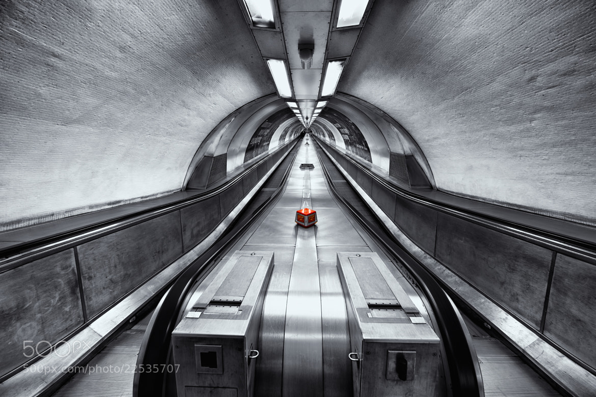 Photograph London underground by Roland Shainidze on 500px