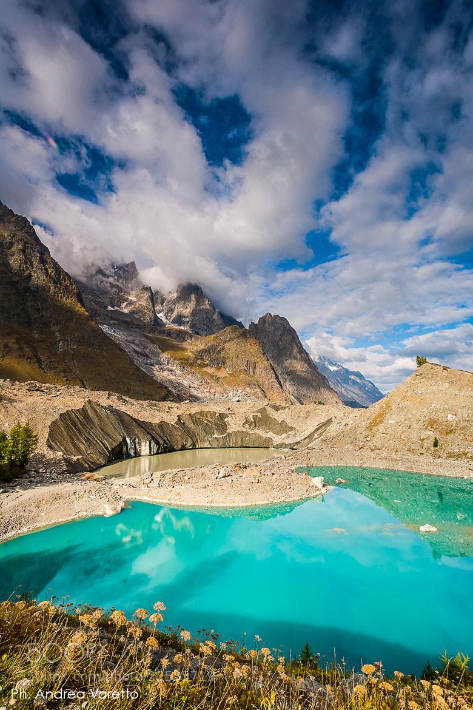 Photograph Miage lake by Andrea Varetto on 500px